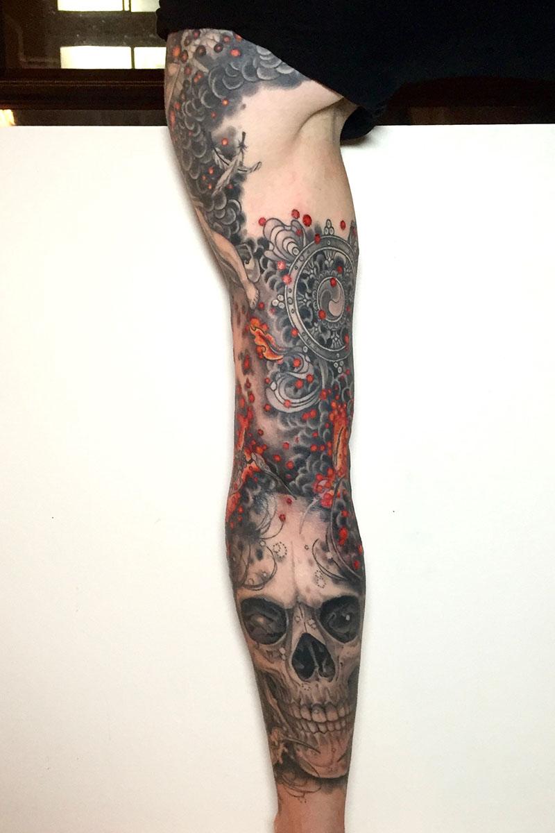 Jason june tattoo artist at kings avenue tattoo new york for Best tattoo artists in nyc 2017