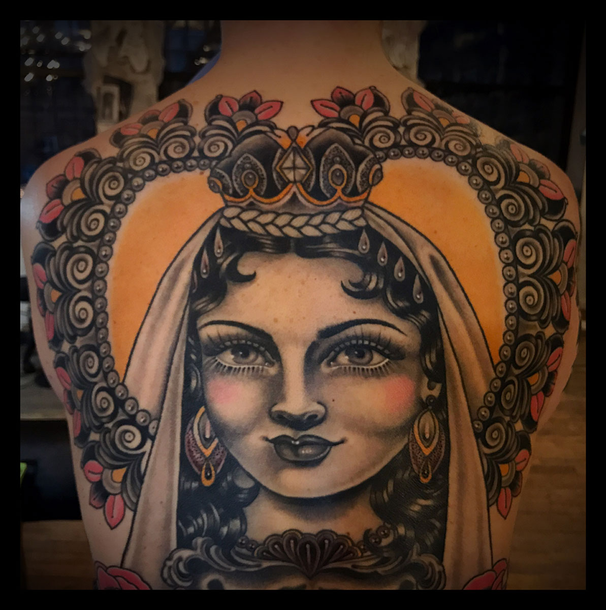 rose hardy tattoo artist at kings avenue tattoo new york