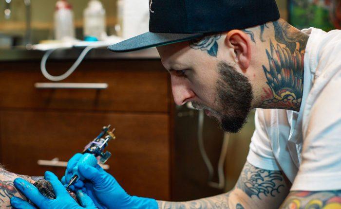 Matt Skinny Bagwell Kings Avenue Tattoo