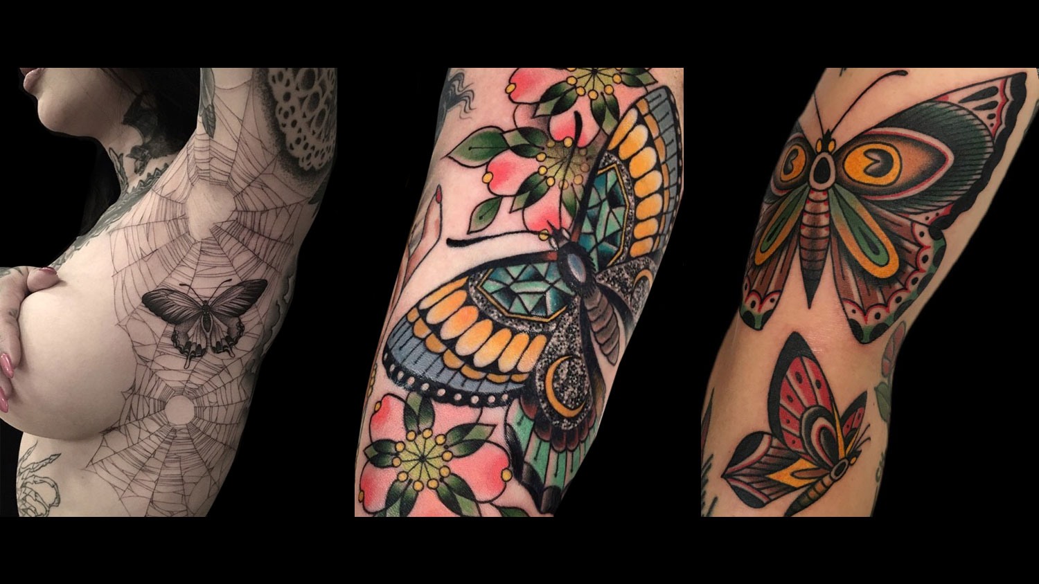 19 butterfly tattoo ideas for your metamorphosis and rebirth for Free tattoos nyc 2017